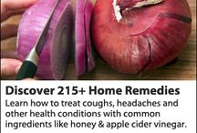 Home Remedies / PROTECT YOUR FAMILY FROM TOXIC PRODUCTS AND MEDICATIONS / by Tina Edison