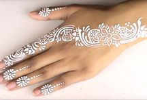 tattoos, henna