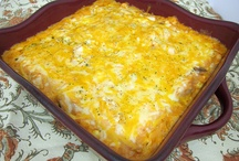 Casseroles / by Abby Steuber