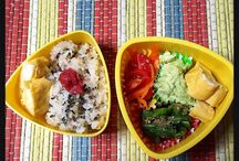 Lunch box お弁当 / Homemade lunchbox memo てづくりのお弁当メモです。