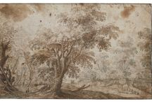 dutch landscape drawing XVII