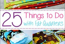 Fat quarters / Ideas for FQ