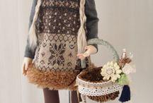 Dolls / Clay dolls