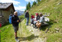 Reiner Höhenweg - Sentiero altavia di Riva 11.08.2016 / escursione guidata da Sepp - geführte Wanderung mit Sepp