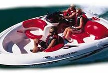 Yamaha exciter jet boat