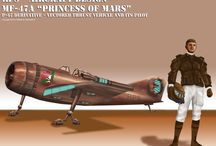 """13th Red Planet Squadron - all materials ©2014 William D. McDonald Jr. / This Board is for my """"13th Red Planet Squadron"""" project, to show my online Pinterest buds visuals of things to come. Thanks for popping by!!! :-)"""
