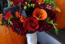 Orange and Maroon wedding