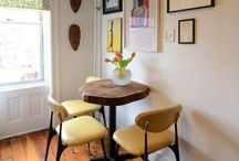 dining space / by Cynthia Pickett