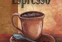 Кофе в рисунках