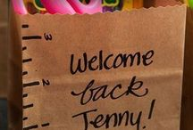 Back to School / Cute ideas for teachers and students of all ages!