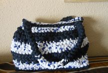 CREACIONES DE TRAPILLO / Elaboración de bolsos en croche  de trapillo