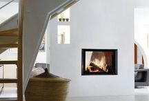 Double sided stoves / Stoves with two glass sides, great for heating two rooms