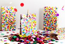 Party - Rainbow/polka dot party