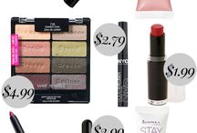 Drugstore makeup- Under $5.00 Dollar's-