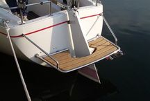 Sailboat Swim Platform