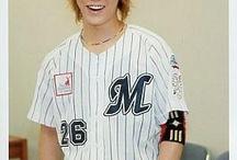 Kazuya in Baseball Uniform ⚾ ⚾ ⚾