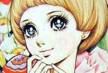 Disegni manga vintage Shojo giapponesi  : )