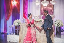 A Contemporary Indian Wedding at the Design Exchange / Design, Decor and Florals • Sara Baig Designs   Planning • My Fair Dulhan   Photography • Oottum Fine Photography   Venue • Design Exchange