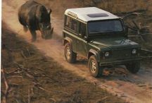 Vintage Land Rover Ads