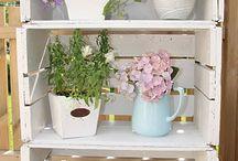 blomster kasser