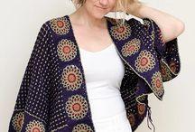 veste crochet femme
