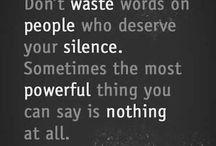 Silence is beauty ✨