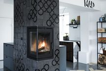 KITCHEN INSPIRATION from a ARTTILES kitchen in Copenhagen / different use of tiles in the kitchen