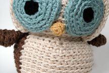 Shaney's owl stuffed animal to crochet / by Amanda Henderson