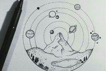 minimalistic drawing