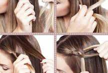 Hair and Beauty / Step by Step hair do's, make up inspirations, make up tools, hair care tips, and more ... #beauty, # hair
