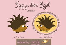 ❤ Made by cataffo ❤ Embroidery Freebies / ❤ Hier seht Ihr die Freebies, die ich für Euch habe ❤