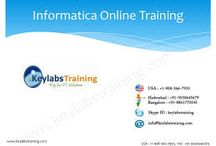 Informatica Online Training / Informatica Online Training By Keylabstraining.com with Real time and certified consultants. In this Informatica Training we will teach you basic Data base training and also we will cover some Unix concepts . And also we can provide you Video recordings.    Contact: info@keylabstraining.com , +91- 9550645679(IND) , +1-908-366-7933( USA).