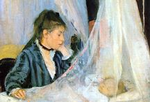 Berthe Morisot / French Impressionist. Muse to Manet and Degas. The kind of artist I aspire to be.