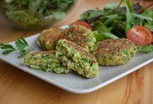 cukkinis és brokkolis ételek