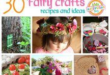 Faerie Fairy Crafts. Handmade ideas