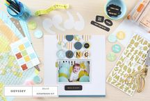 March 2015 Kits: Odyssey / Prepared for an epic journey? Go, see and explore with Odyssey. / by Studio_Calico