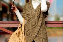 Shawls and wraps - crochet