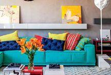 Salas que Inspiram / Salas com decoração inspiradora para se inspirar!