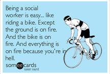 Social work humour