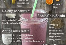 Smoothies / Smoothies are a great way to pack in the nutrients and protein!