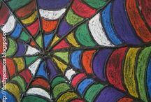 Kuivapastellityöt / Chalk pastel