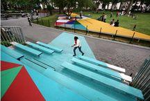 children, play, landscape...playscape