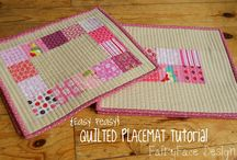 Quilting - Placemats