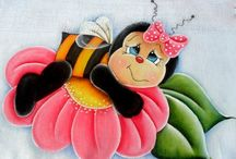 pintura abelha