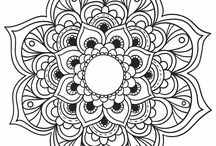 mandalas color