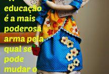 Photos/phrases / Photos and dolls made by me with lovely phrases. Foto e bonecas feito por mim com frases adoráveis.