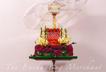 Cake Collaborations @The Enchanting Merchant Company / Cake Collaborations: - Sugar Skull Bakers 2014