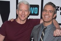 Anderson Cooper / Openly gay CNN anchor Anderson Cooper
