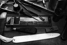 Bleisatz / Buchdruck und Letterpress Material
