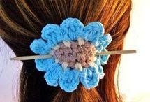 moños en.crochet